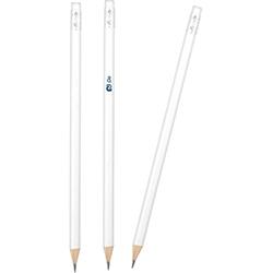 Köşeli Silgili Boyalı Kurşun Kalem