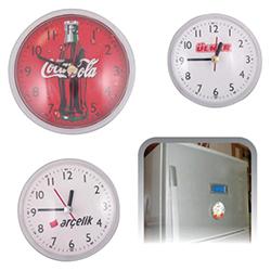 Plastik Buzdolabı Saati