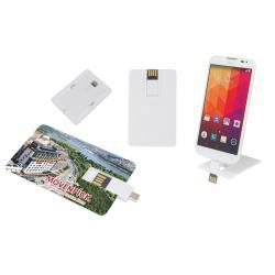8 GB OTG Özellikli Kartvizit USB Bellek
