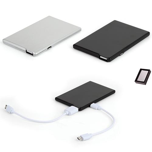 2600 mAh Power Bank Mobil Şarj Cihazı (8 GB USB Özellikli)