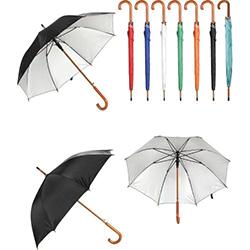 Ahşap Saplı Fiber Glass Kırılmaz Şemsiye