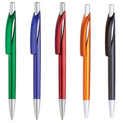 Syber Metalik Basmalı Tükenmez Kalem