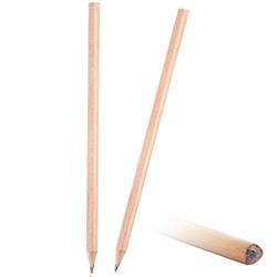 Üçgen Natürel Kurşun Kalem