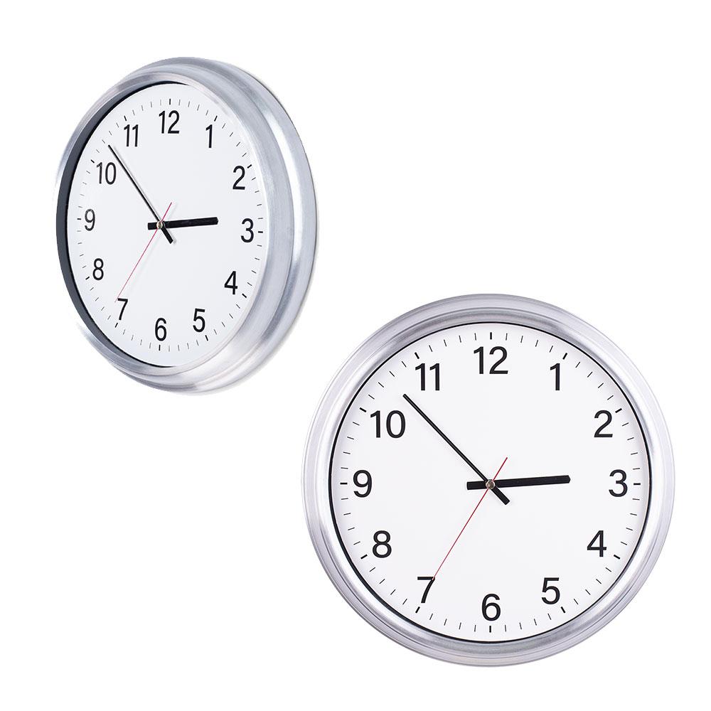 Alüminyum Çerçeveli Duvar Saati