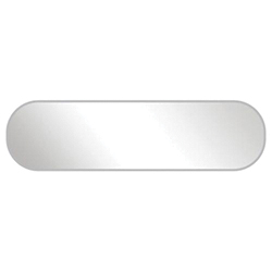 Metal Plaka ( 41 x 11 mm )