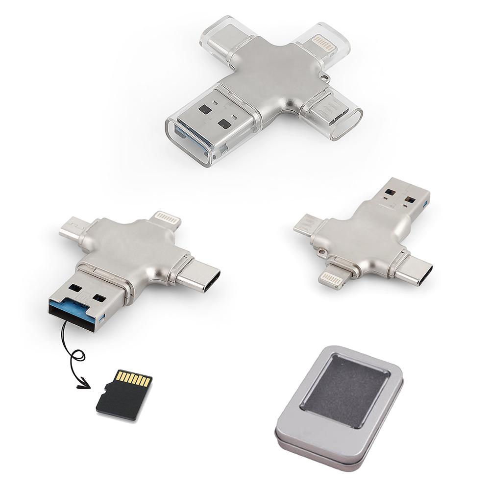 16 GB Metal USB Bellek