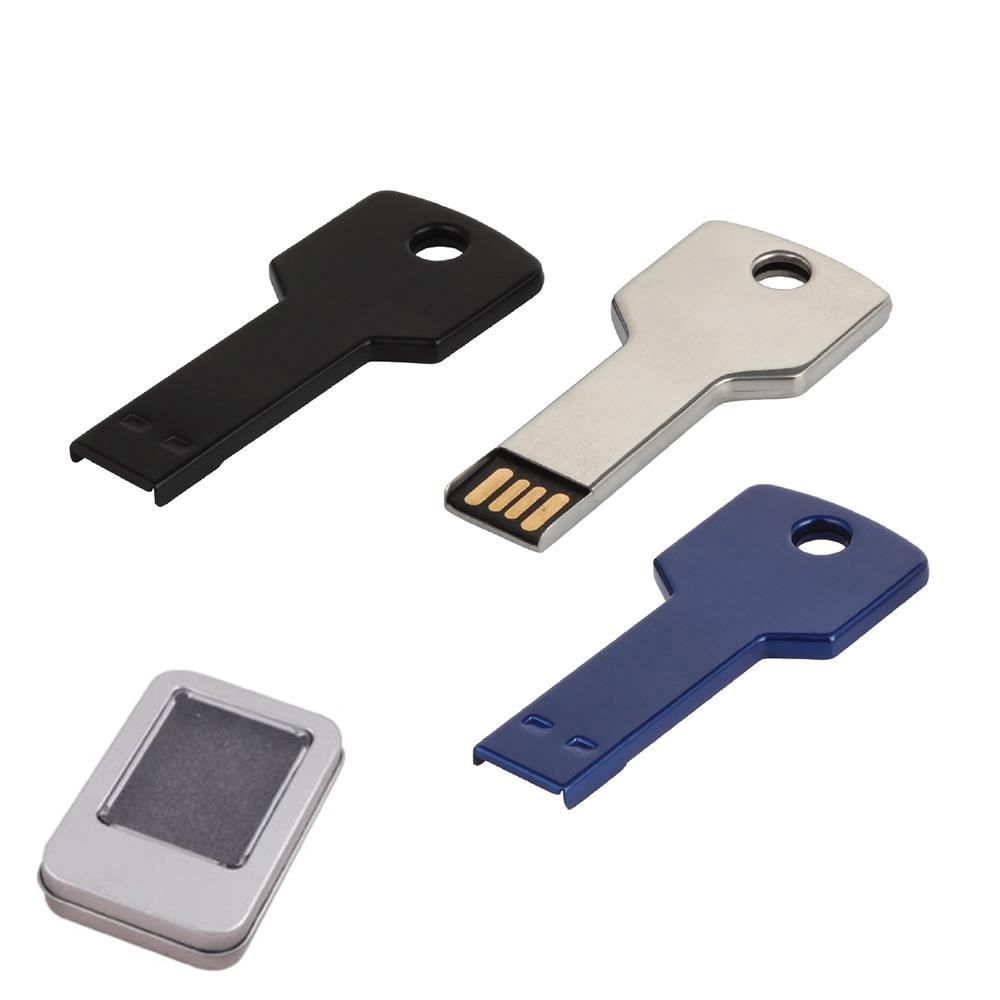 32 GB Metal Anahtar USB Bellek