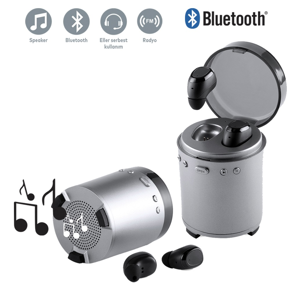 Bluetooth Hoparlörlü Kulaklık