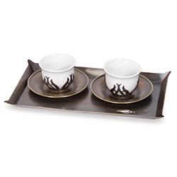 İkili Türk Kahvesi Seti