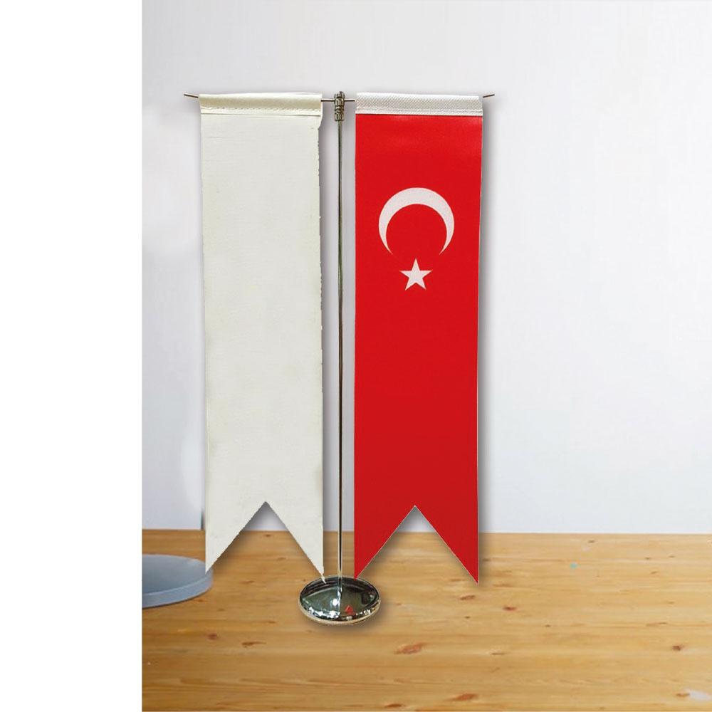 Kırlangıç İkili Masa Bayrağı